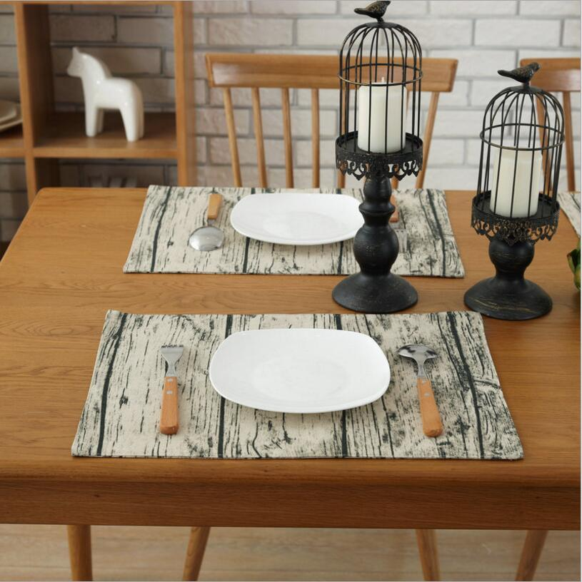 Quality Printed Cotton Linen Western Pad Placemat