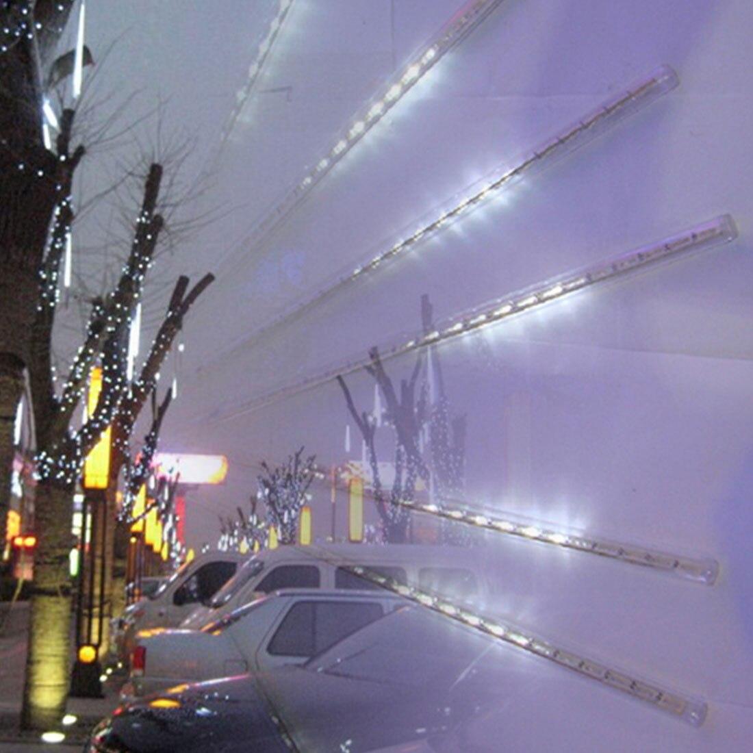 Новый ЕС/США Plug многоцветные 30 см метеорный поток Дождь Трубы светодиодный Рождественские огни свадьба Сад Строка свет открытый