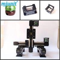Mjunit Двигатель ized Шаговые двигатели позиционирования линейной стадии XYZ линейный рельс с ременным приводом линейная слайд