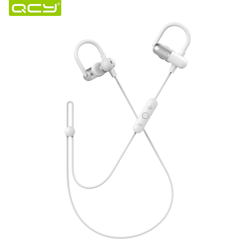 QCY QY11 Sports Bluetooth Earphone Sweatproof Wireless Headset with Microphone Running Music Earbuds for Iphone,Xiaomi,Samsung bluedio t4 original wireless headphones portable bluetooth headset with microphone for iphone htc samsung xiaomi music earphone