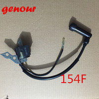 1KW 154F 156F Gasoline Engine Ignition Coil High Voltage Set For Generator Spare Parts 1500 1800
