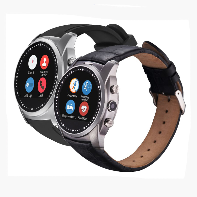 2016 Hot Sale Smart Watch Phone Support Micro SIM Card Compatible With Android And MIUI System