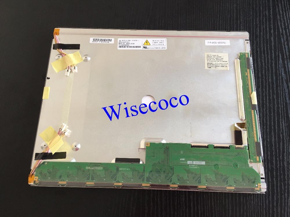 AA150XC01 Original A+ Grade 15 inch 1024*768 ( XGA ) 1pcs CCFL LCD Display for Industrial Equipment Application by Mitsubishi
