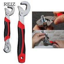 REIZ 2 teile/satz Spanner Set Multi-funktion Schlüssel Universal Schlüssel Einstellbarer Griff Wrench Set 9-32mm Ratsche schlüssel Muttern und Bolzen