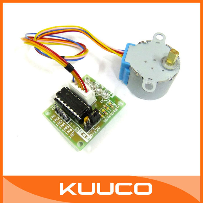 Dc gear stepper step motor with uln2003 driver board 5v 4 for 6 amp stepper motor driver