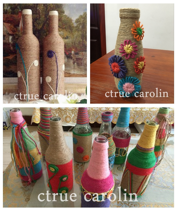 US $2 22 5% OFF|Aliexpress com : Buy Jute Twine 50M Natural Sisal Rope 2mm  DIY Rustic Tags Wrap vintage wedding decoration Craft Burlap String Cord