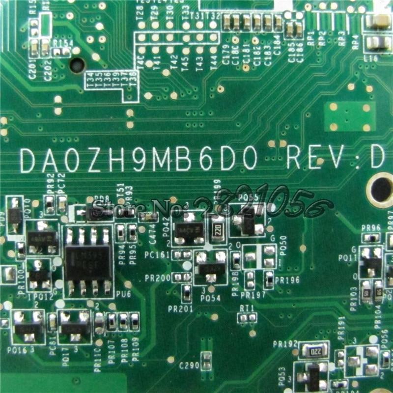NOKOTION for acer aspire one 521 laptop motherboard MBSBT06004 DA0ZH9MB6D0 REV D CPU Onboard DDR3