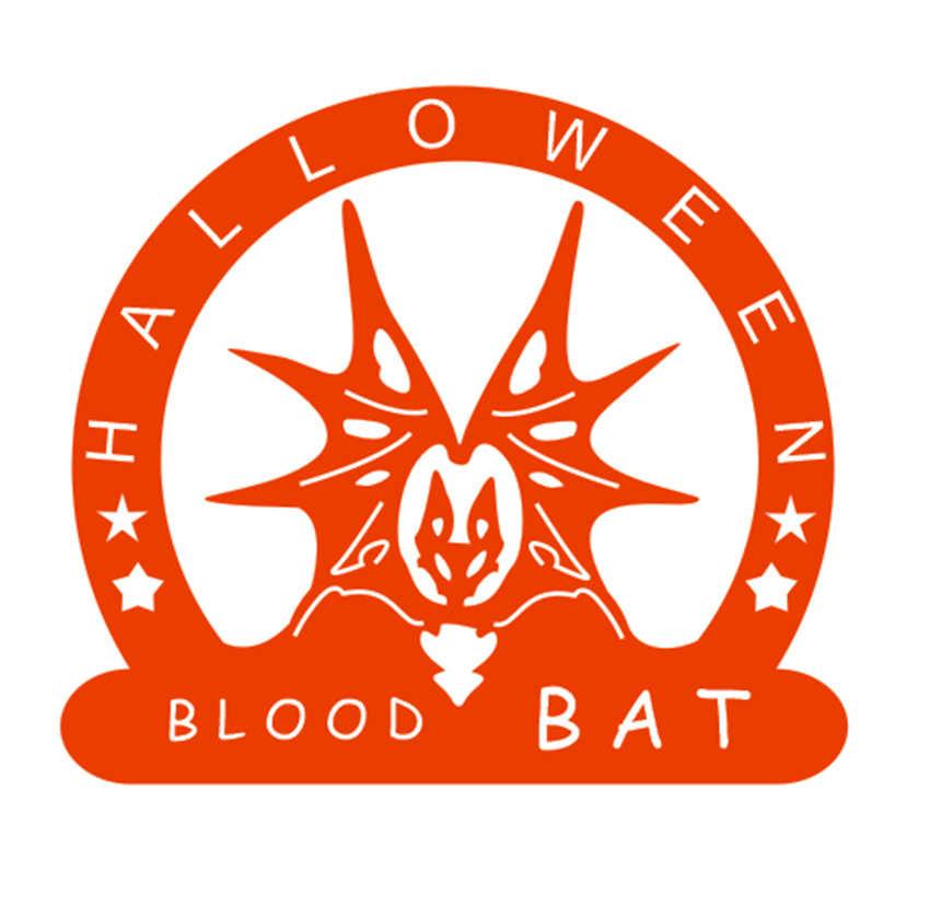 Panfelou Halloween Terror Darah Kelelawar Logam Kerajinan Kertas Die Cutting Dies Membuat Scrapbook/DIY Hallowmas Hiasan Timbul Cetakan Kartu