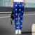 Moda Ao Ar Livre Soltas Estrelas Impressão Harém Calças Hip Hop Dos Homens azuis Preto Ankle Banded Sweatpants Baggy Trousers Hip Hop Strawstring M-XXL