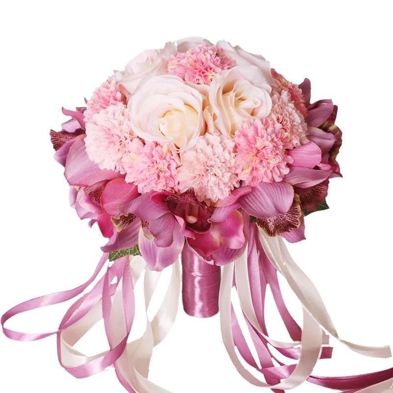 Beautiful Flowers For Weddings: Beautiful 4 Color Hot Sale Bridesmaid Wedding Foam Flowers