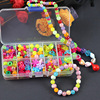 200pcs Beads Toys For Children DIY Hand-made Necklaces Bracelets Girl Kids Toddler Beaded Puzzles Educational Toy Free Shipping discount