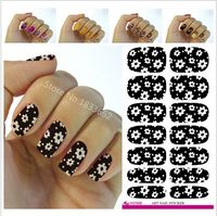2016 Minx Nail Sticker The Water Adhesive Foil Nail Art Decorations A Tool Water Decals 3d