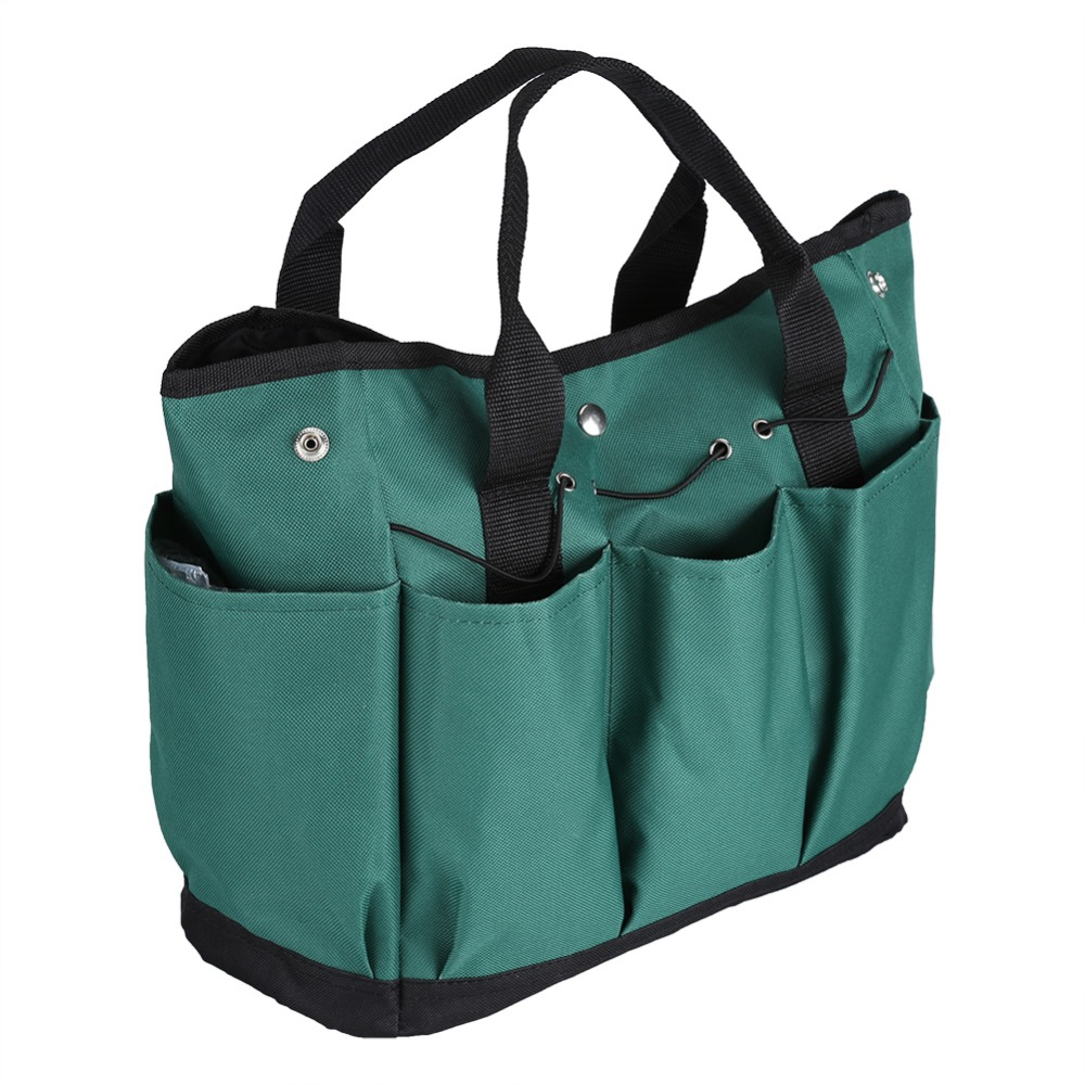 600d Multifunction Garden Foldable Hardware Bag Organizer Tool Gadget Green Storage Bags Eco Friendly Folding In From Home