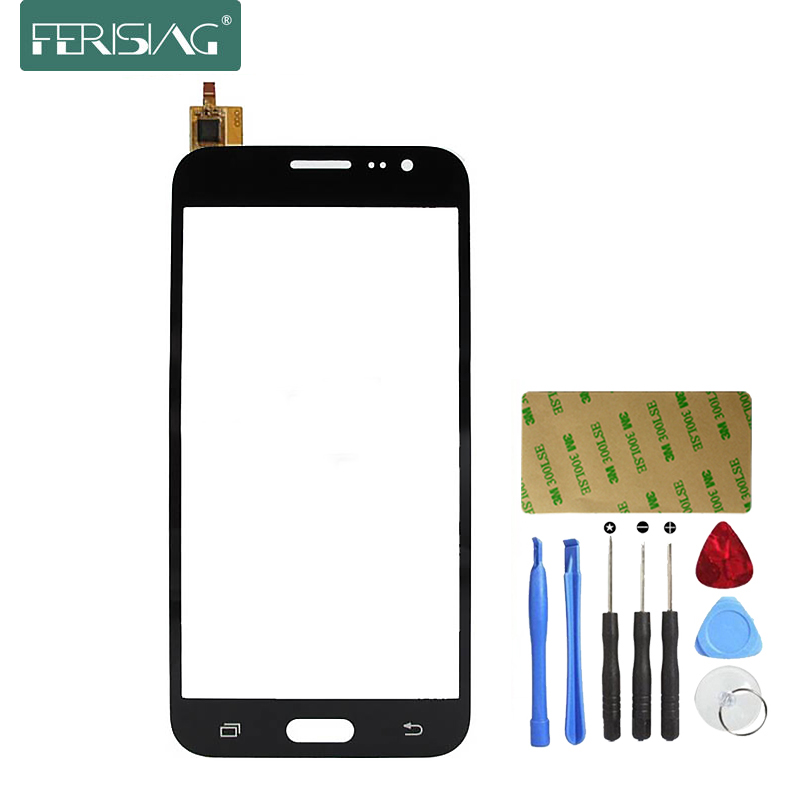 Ferising AAA מגע מסך עבור Samsung galaxy J3 2017 נייד טלפון לוח מגע חיישן Digitizer החלפת זכוכית + ערכת כלים