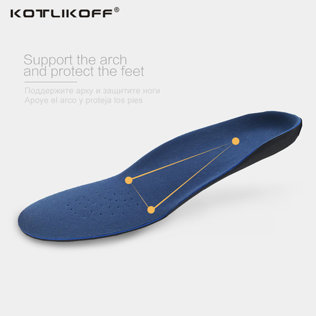 KOTLIKOFF Orthotic insoles EVA Adult Flat Foot Arch Support Orthotics Orthopedic Insoles for Men and Women Feet Health Care Pad kotlikoff sport running insoles shoes insert orthotic arch support shoe foot pad cushion for shoes men women shoes accessories