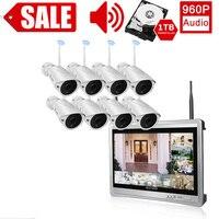В помещении, на возраст 1, 2, 3, 4, ТБ аудио 8CH дома Камера монитор 1080 p видео радионяня беспроводной видеонаблюдения Системы встроенный жесткий