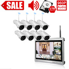 Indoor 1 2 3 4TB Audio 8CH Home Camera Monitor 1080p Video wireless security Surveillance System Built in Hard Drive