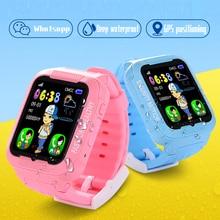 K3 Kids Smart Watch GPS Camera WIFI Location Finder Child Watches SOS Anti-lost Monitor Tracker Baby Waterproof Sport Bracelet