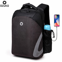 OZUKO Multifunction Backpack Men&Women Anti Theft 15.6 Inch Laptop Backpacks for Couple Teenager School Bag Male Travel Bag USB