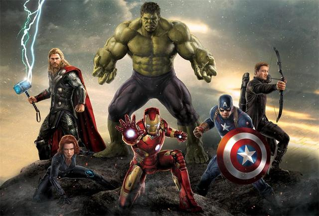 Custom Wall Decor The Avengers Poster Hulk Thor Wallpaper Iron Man
