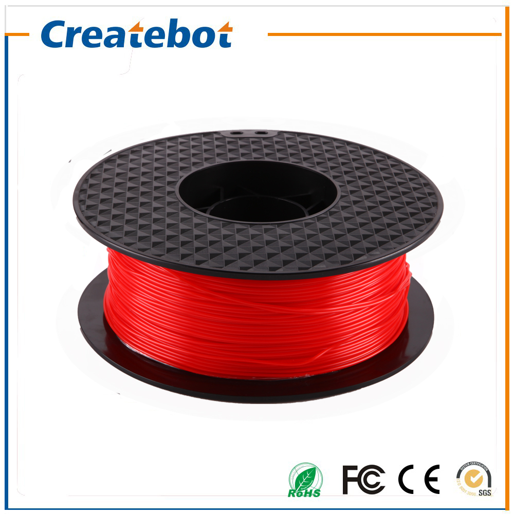 Computers/tablets & Networking Red Color 3d Printer Filament 1.75mm 1kg Abs For Print Makerbot Reprap