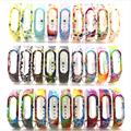For Xiaomi Mi Band 2 Bracelet Strap Miband 2 Colorful Strap Wristband Replacement Smart Band Accessories For Mi Band 2 Silicone