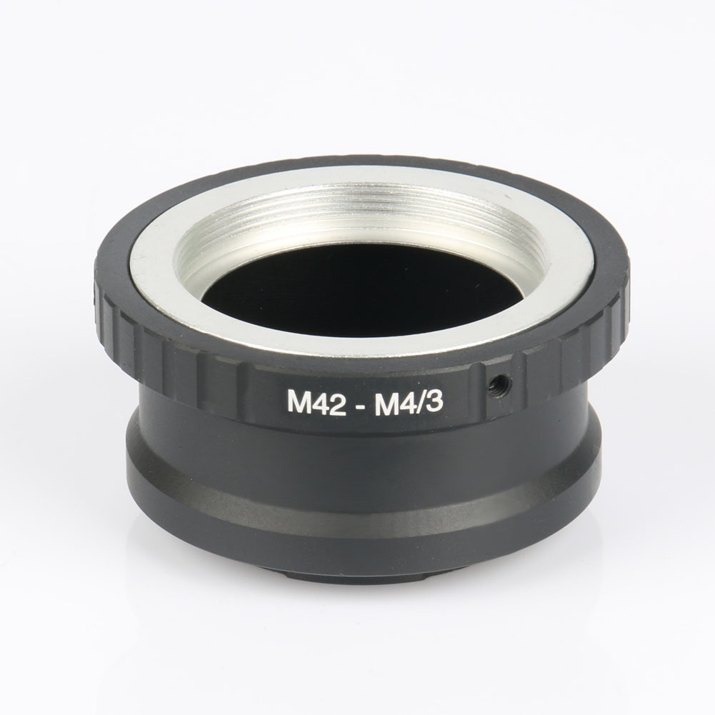 New Lens Adapter Ring <font><b>M42</b></font>-<font><b>M4/3</b></font> For Takumar <font><b>M42</b></font> Lens and Micro 4/3 <font><b>M4/3</b></font> Mount Camera Accessories Adapter Ring image