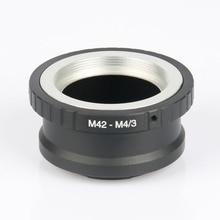 Nieuwe Lens Adapter Ring M42 M4/3 Voor Takumar M42 Lens en Micro 4/3 M4/3 Mount Camera Accessoires adapter Ring