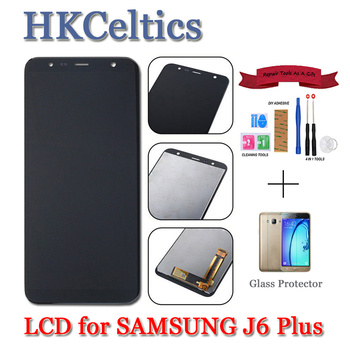 LCD Display For Samsung J610 LCD J6 Plus J610 LCD Touch Screen Test For Samsung J610 J6 Plus LCD Screen Touch Digitizer Assembly фото