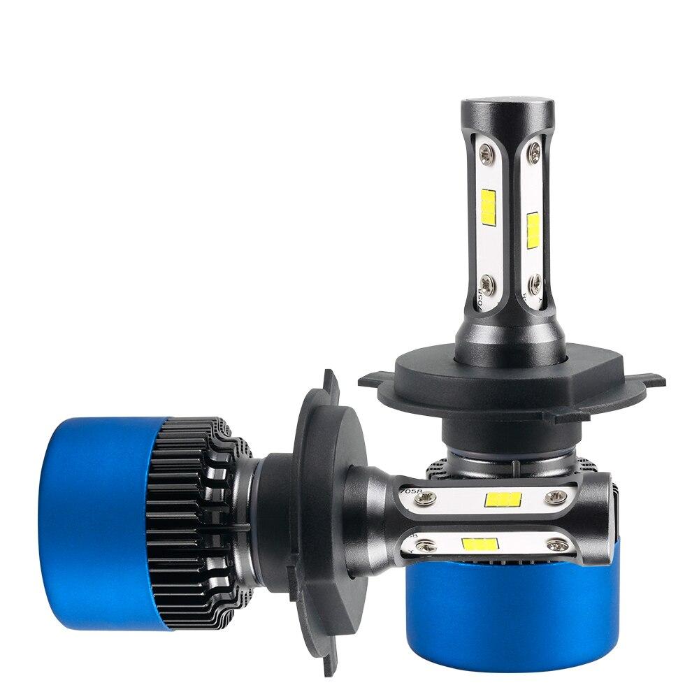 H1 H4 H7 H11 LED 6500K Light for 6063 Heatsink IP67 DC12V S2 Plus Series Car