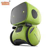 Global Drone GW A1 Robots for Kids Dance Music Recording Dialogue Touch Sensitive Control Interactive Toy Smart Robotic for Kids