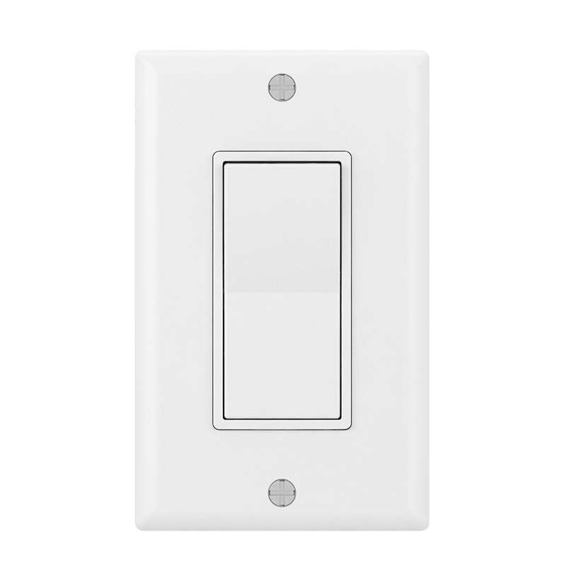 American Button Switches Wifi Smart Wall Light Switch Dimmer Mobile App Remote Control No Hub Required