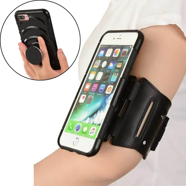 Wangcangli 6-inch Mobile Phone Arm Strap For Iphone 7 8 Plus Mobile Phone Armband For Morning Run Mobile Phone Armband Arm Bag Armbands Mobile Phone Accessories