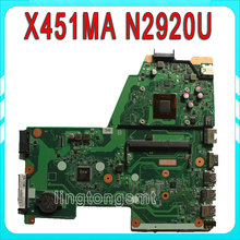 For ASUS Laptop motherboard X451MA mainboard REV2.1 processor N2920u Integrated 100% tested