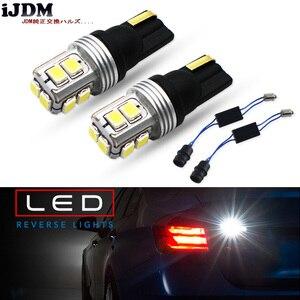 IJDM H21W светодиодный CAN-bus ошибок BAY9S светодиодный освещение для 2017-up BMW G30 5 серии 530i 530e 540i 550i резервного копирования Фары заднего хода, белый цве...