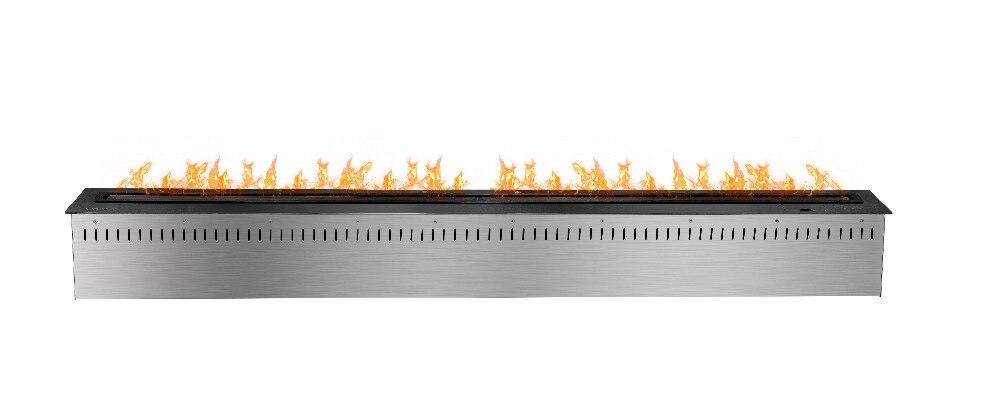 60 Deluxe Inséré Intérieur auto Télécommande Bio Éthanol smart noir cheminée brûleur inserts