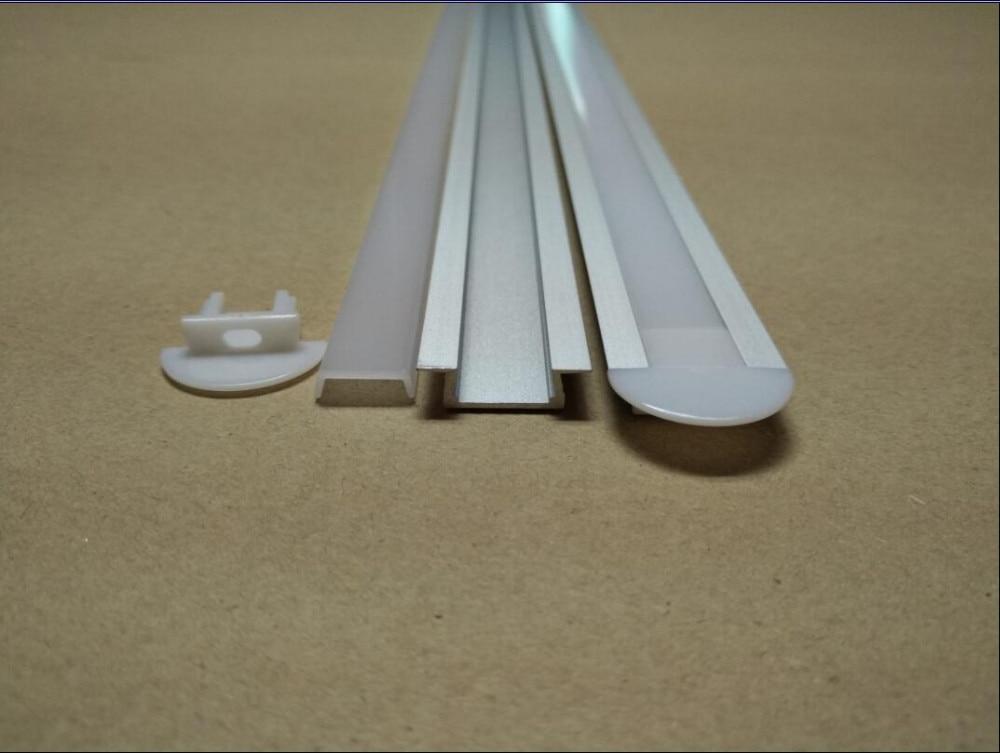 Free Shipping 2500X22X6mm 120pcs/LOT 2.5M/PCS jewelry counter bar LED Aluminum Profile showroom led counter led bar