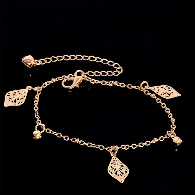 HTB1cIBGLpXXXXa8XFXXq6xXFXXXj Golden Foot Chain Jewelry Spirituality Ankle Bracelet For Women - 5 Styles