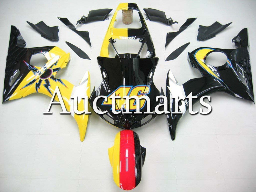 For Yamaha YZF 600 R6 2003 2004 2005 YZF600R ABS Plastic motorcycle Fairing Kit Bodywork YZFR6 03 04 05 YZF600R6 YZF 600R CB07 mfs motor motorcycle part front rear brake discs rotor for yamaha yzf r6 2003 2004 2005 yzfr6 03 04 05 gold
