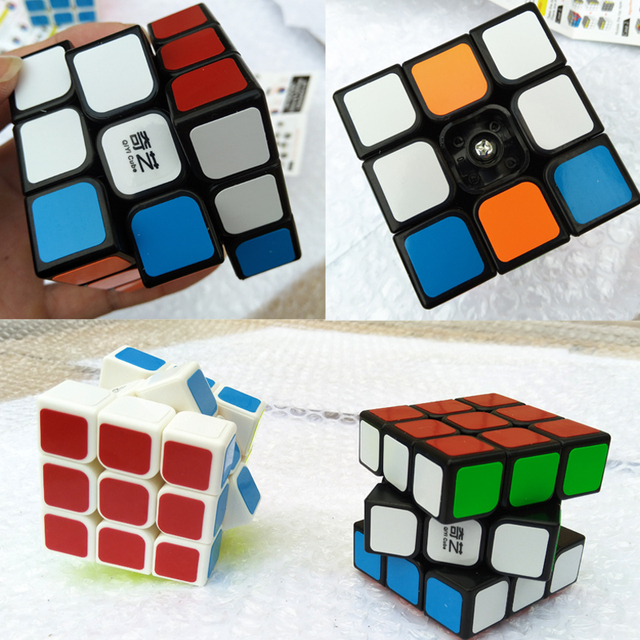 XMD Brand Sail Magico Cubes Professional 3x3x3 Cubo Sticker Speed Twist Puzzle Educational Toys for Children Gift Rubiks Cube
