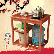 Small mahogany tea table wenge rosewood coffee tables Arts cooker mobile Chinese cart teasideend