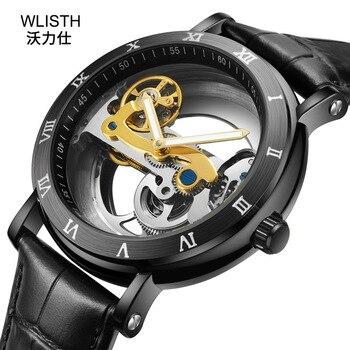 2019 Hollow Male WLIST Watch Sport Men Automatic Mechanical Waterproof Relogio Masculino Steel Luxury Top Brand Luxury Man Clock