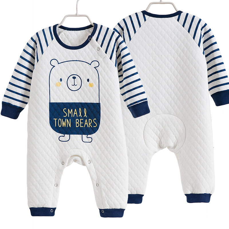 Baby Rompers Autumn Baby Boy Clothes Cotton Baby Girl Clothing Newborn Clothes Roupas Bebe Infant Baby Jumpsuits Kids Costume new 2016 autumn winter kids jumpsuits newborn baby clothes infant hooded cotton rompers baby boys striped monkey coveralls