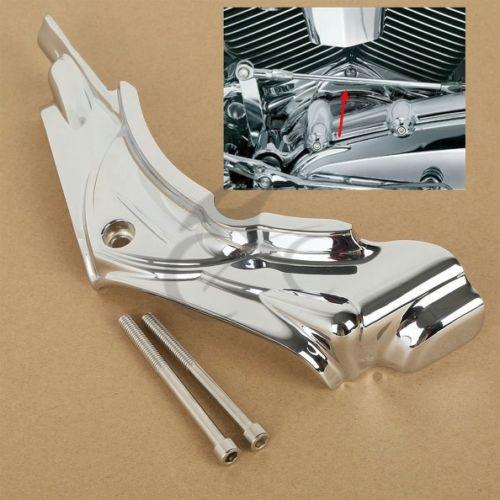 Plichtmatig Chrome Cilinder Base Side Cover Voor Harley Electra Road Street Glide King Dyna Lage Prijs