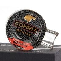COHIBA Funny Pocket Cigar Ashtray Car Ash Tray Smoking Cendrier 1 Rest 1 Ash Slot Cigar