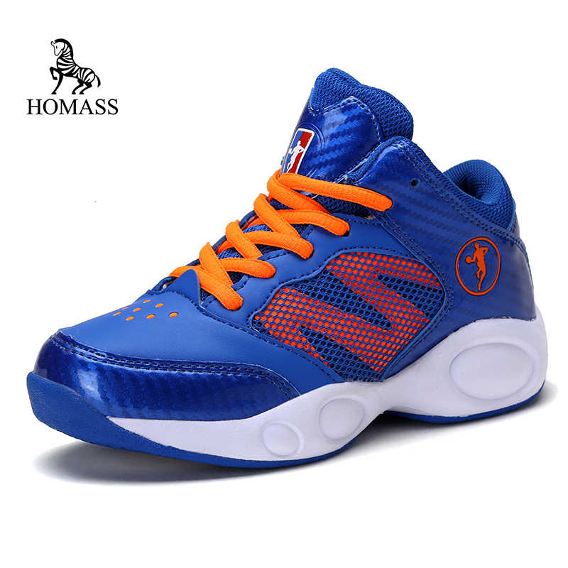pretty nice d19e1 90628 Homass hight top basketball sneaker child Outdoor jordan Shoes Non-slip  Sneakers Soft Athletic Trainers
