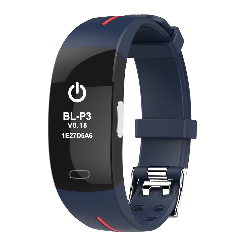<font><b>P3</b></font> <font><b>Smart</b></font> <font><b>watch</b></font> ECG+PPG Blood Pressure Heart rate Monitor Pedometer Sports Bracelet for IOS Android IP67 waterproof pk xiaomi mi3 image