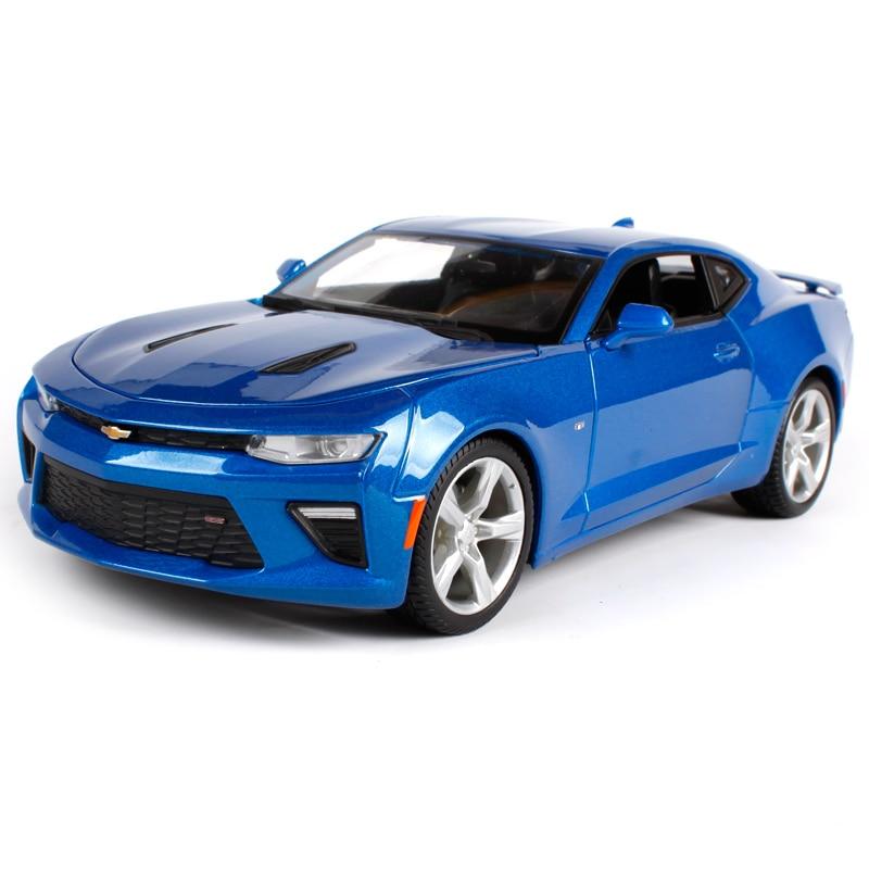 Maisto 1:18 2017 2016 Chevrolet Camaro Ss Red Blue Gray