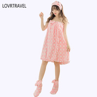 LOVRTRAVEL Drying Microfiber Bath Towel Women Set Hair Skirt Towel Dress Badetuch Serviette De Bain Adults