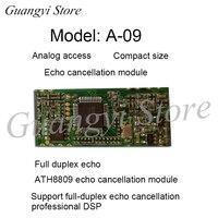 A 09 Full Duplex Mão livre Chamada Módulo de Cancelamento de Eco    Chip DSP ATH8809|Peças p ar condicionado| |  -